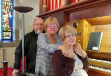 Farewell to Val Johnson, one of the organists at St John's Anglican Church, Newcastle.
